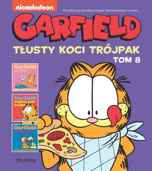 okładka Garfield Tłusty koci trójpak Tom 8książka |  |