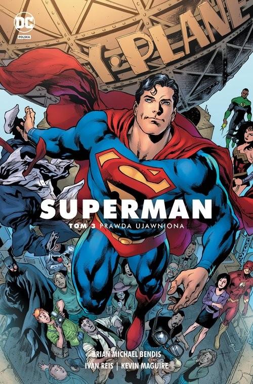 okładka Superman Tom 3 Prawda ujawnionaksiążka |  |