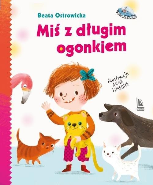 okładka Miś z długim ogonkiemksiążka      Beata Ostrowicka