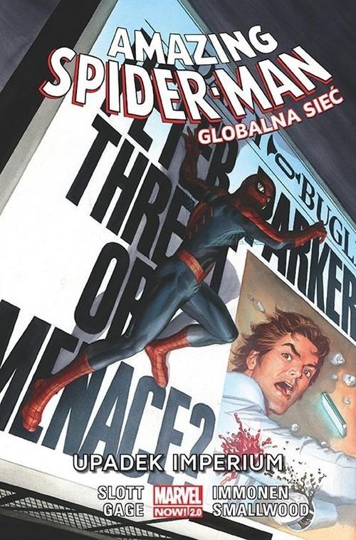 okładka Amazing Spider Man. Globalna sieć: Upadek imperium. Tom 7książka |  | Dan Slott, Christos Gage