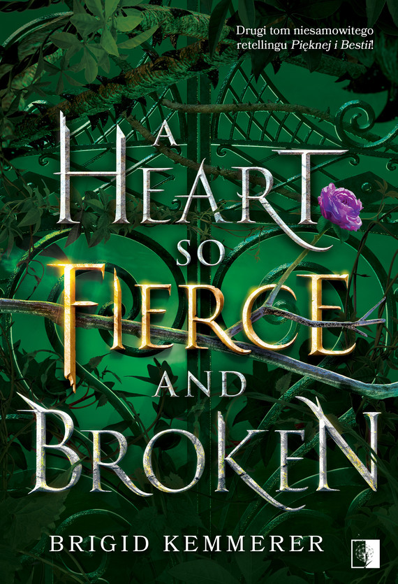 okładka A Heart So Fierce and Brokenebook | epub, mobi | Kemmerer Brigid