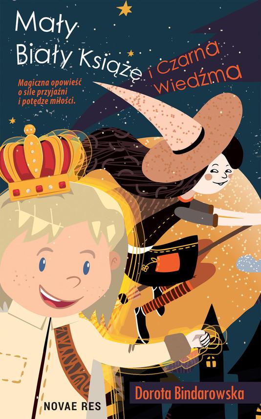 okładka Mały Biały Książę i Czarna Wiedźmaebook | epub, mobi | Dorota Bindarowska