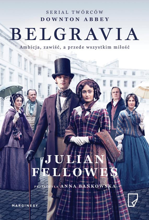okładka Belgraviaebook | epub, mobi | Julian Fellowes