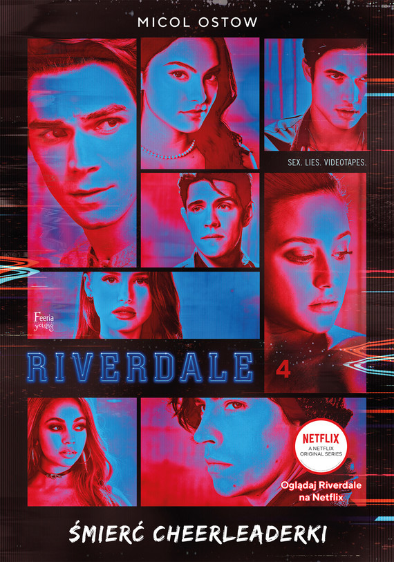 okładka Riverdale. Śmierć cheerleaderkiebook | epub, mobi | Micol Ostow