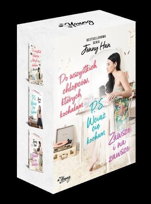 okładka Do wszystkich chłopców, których kochałam / P.S.Wciąż Cię kocham / Zawsze i na zawsze  Pakiet 3 książekksiążka |  | Jenny Han
