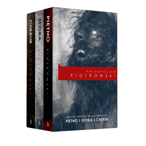 okładka Pakiet: Piętno/Sfora/Cherubaudiobook   MP3   Przemysław Piotrowski