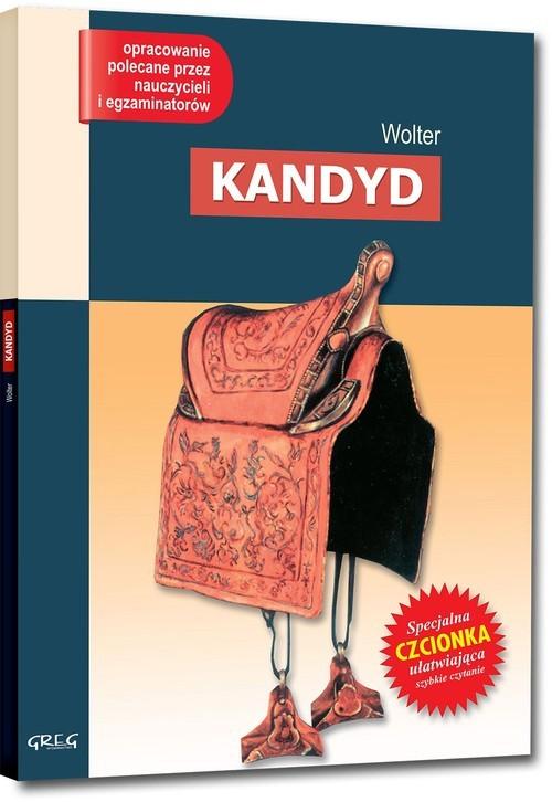 okładka Kandyd Lektura  z opracowaniemksiążka      Wolter