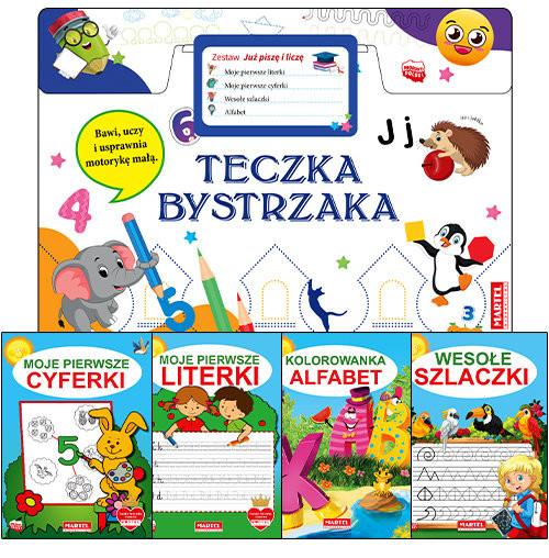 okładka Teczka bystrzaka Zestaw Już piszę i liczęksiążka |  | Praca Zbiorowa