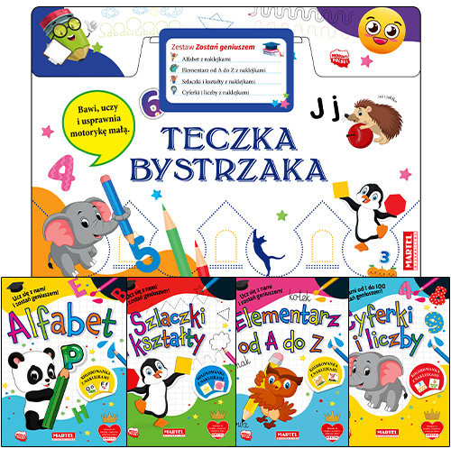 okładka Teczka bystrzaka Zestaw Zostań geniuszemksiążka |  | Praca Zbiorowa