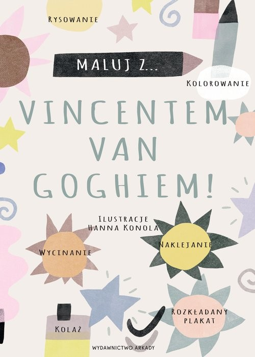 okładka Maluj z Vincentem van Goghiem!książka |  |