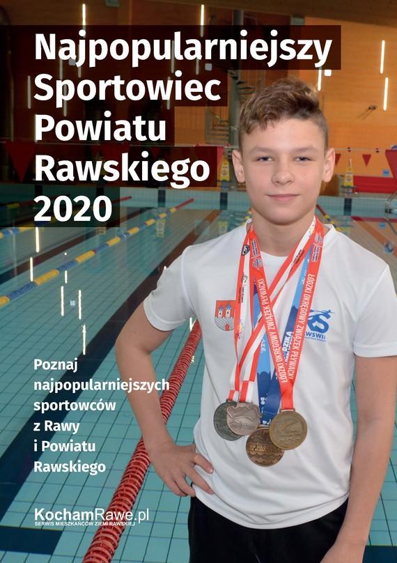 okładka Najpopularniejszy Sportowiec Powiatu Rawskiego 2020ebook | epub, mobi | Praca Zbiorowa