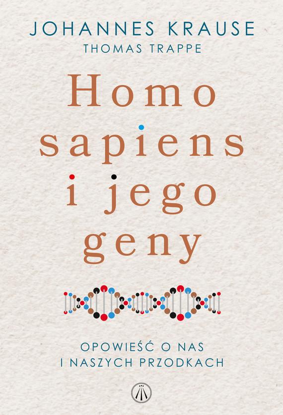 okładka Homo sapiens i jego genyebook   epub, mobi   Johannes Krause