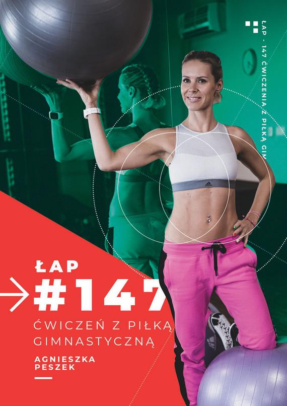 okładka 147 ćwiczeń z piłką gimnastycznąebook   pdf   Agnieszka Peszek