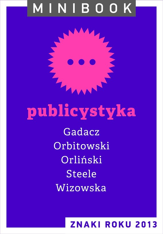 okładka Publicystyka. Minibookebook | epub, mobi | autor zbiorowy
