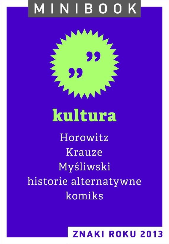 okładka Kultura.  Minibookebook   epub, mobi   autor zbiorowy