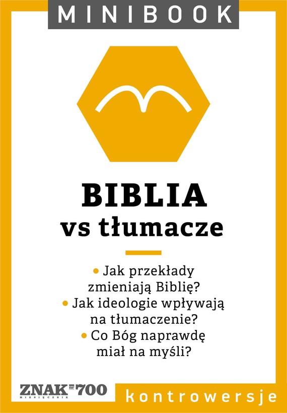 okładka Biblia [vs tłumacze]. Minibookebook | epub, mobi | autor zbiorowy
