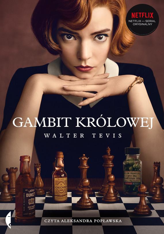 okładka Gambit królowejaudiobook | MP3 | Tevis Walter