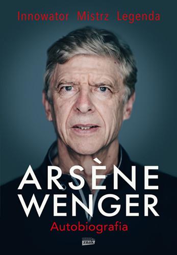 okładka Arsene Wenger – autobiografiaksiążka     