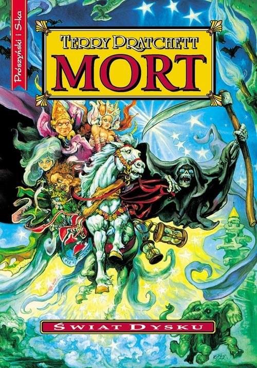 okładka Mortksiążka      Terry Pratchett