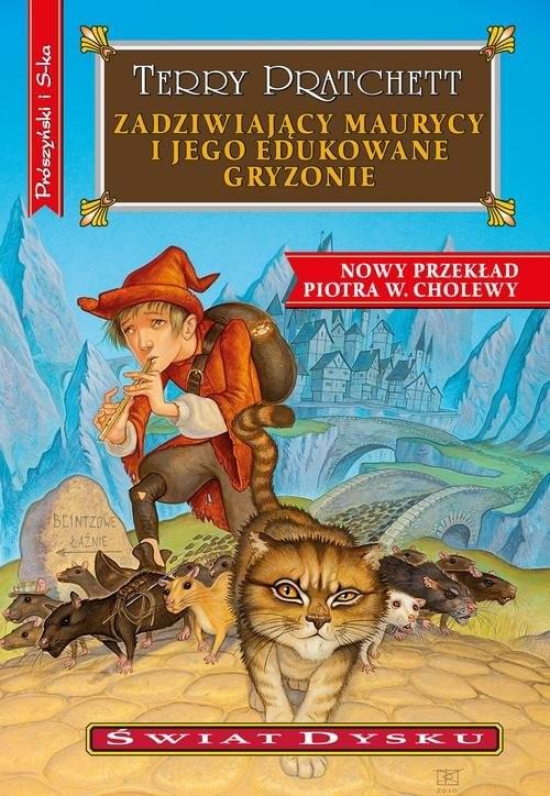 okładka Zadziwiający Maurycy i jego edukowane gryzonieksiążka |  | Terry Pratchett