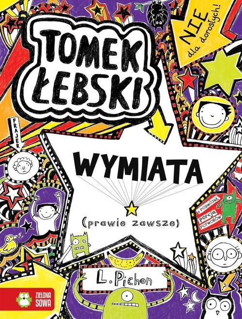 okładka Tomek Łebski wymiata (prawie zawsze) Tom 5książka      Pichon Liz