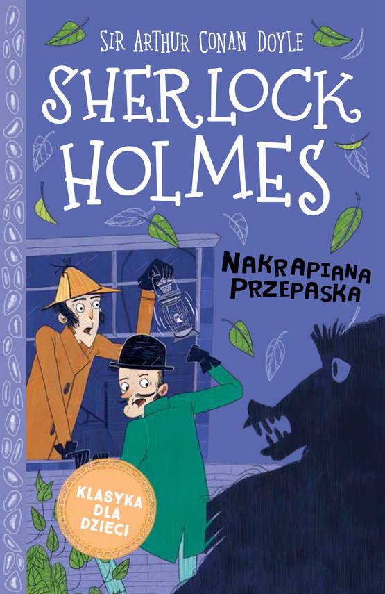 okładka Klasyka dla dzieci. Sherlock Holmes. Tom 4. Nakrapiana przepaskaebook   epub, mobi   Arthur Conan Doyle