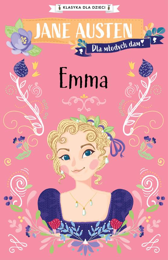 okładka Klasyka dla dzieci. Emmaebook | epub, mobi | Jane Austen
