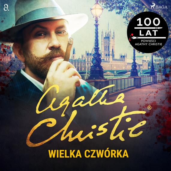 okładka Wielka czwórkaaudiobook | MP3 | Agata Christie