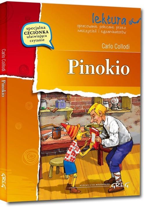 okładka Pinokio Wydanie z opracowaniemksiążka      Carlo Collodi