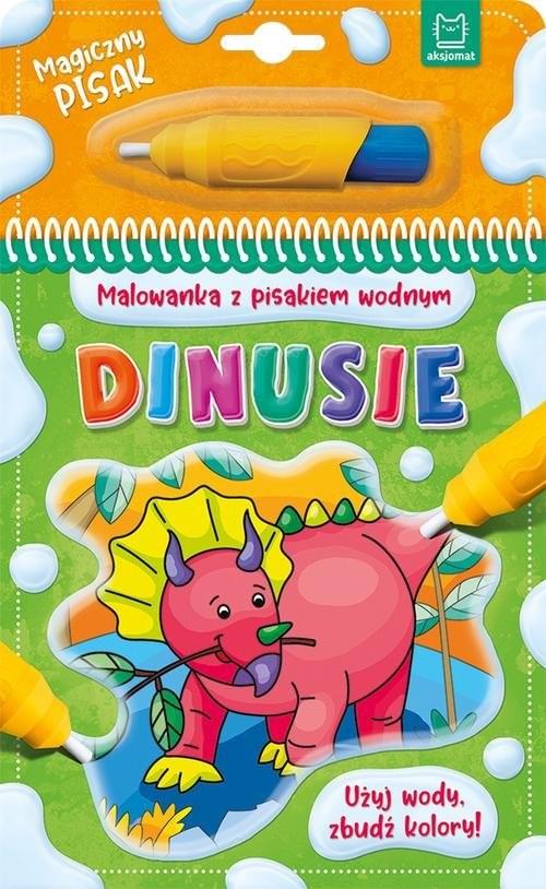 okładka Malowanka z pisakiem wodnym Dinusieksiążka |  |