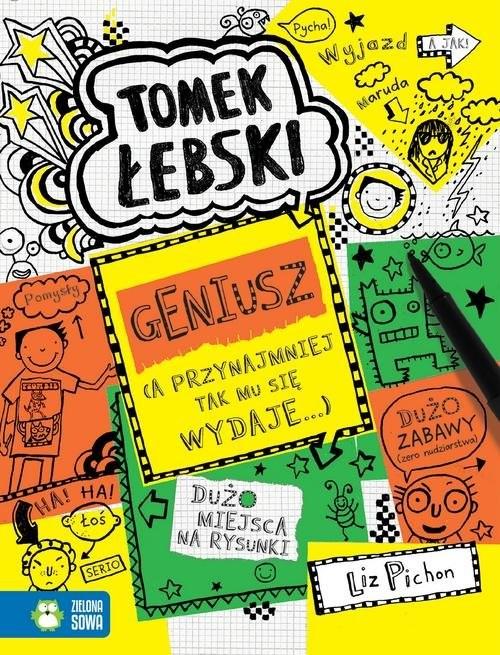 okładka Tomek Łebski Tom 10 Geniusz a przynajmniej tak mu się tylko wydaje 10książka |  | Pichon Liz
