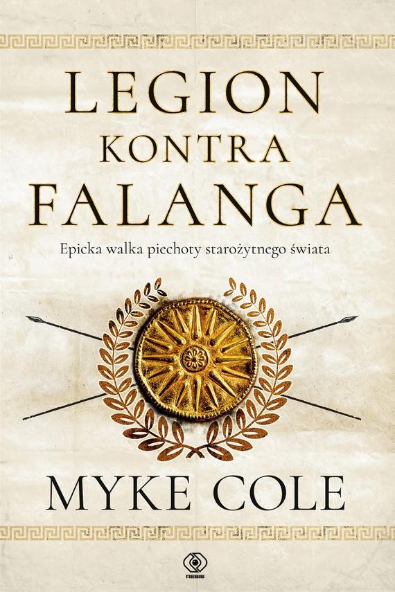 okładka Legion kontra falangaebook | epub, mobi | Myke Cole