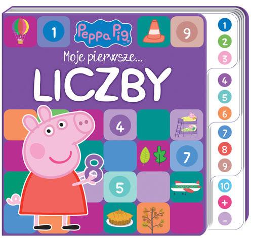 okładka Peppa Pig. Moje pierwsze… Liczbyksiążka |  | Opracowanie zbiorowe