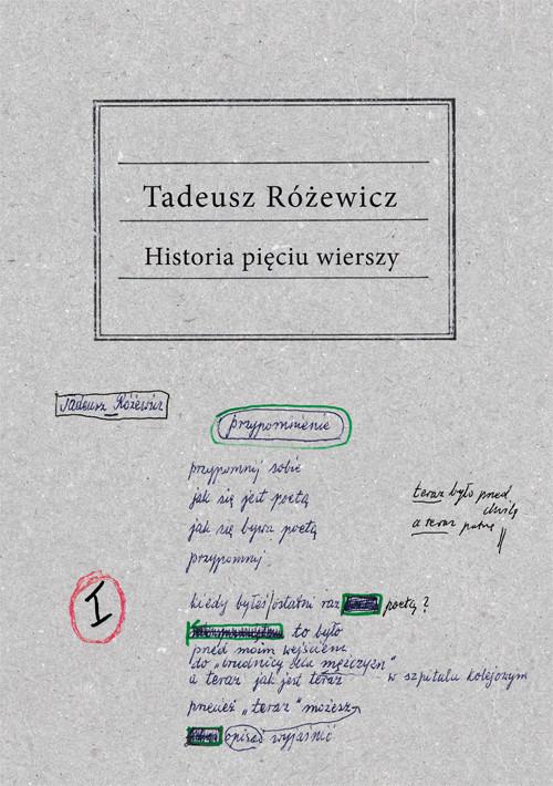 okładka Historia pięciu wierszyksiążka |  | Tadeusz Różewicz