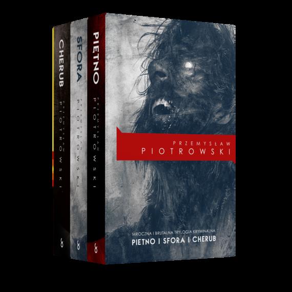 okładka Pakiet: Piętno/Sfora/Cherubaudiobook | MP3 | Przemysław Piotrowski
