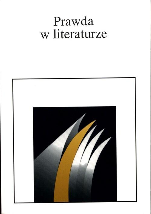 okładka Prawda w literaturzeksiążka |  |