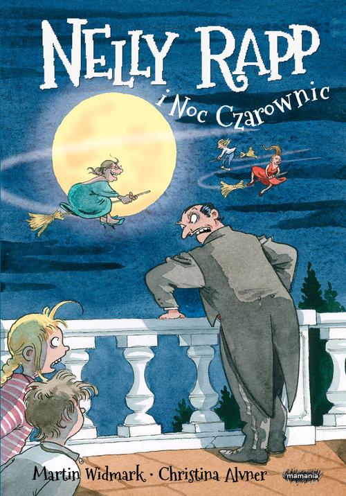 okładka Nelly Rapp i noc czarownicksiążka |  | Martin Widmark