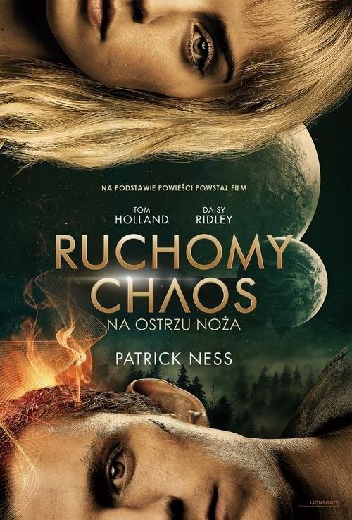 okładka Na ostrzu noża Ruchomy chaosksiążka      Ness Patrick