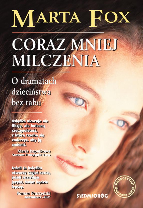 okładka Coraz mniej milczeniaebook | epub, mobi | Marta Fox