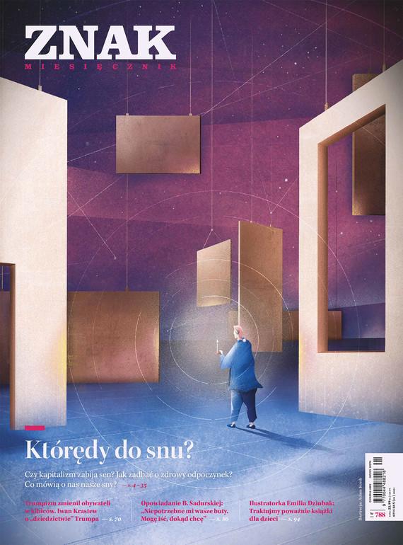 okładka Miesięcznik ZNAK nr 788 Którędy do snu?ebook | epub, mobi | autor zbiorowy