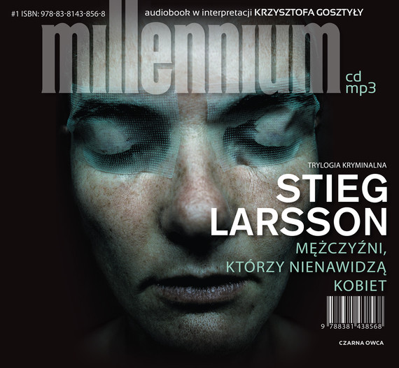 okładka Mężczyźni, którzy nienawidzą kobietaudiobook   MP3   Stieg Larsson
