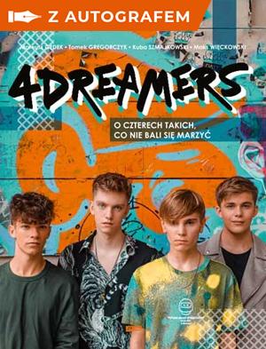 okładka 4Dreamers - książka ze zdjęciem i autografemksiążka |  | 4Dreamers