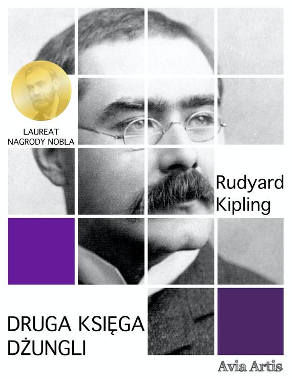 okładka Druga księga dżungliebook | epub, mobi | Rudyard Kipling