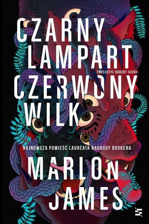 okładka Czarny Lampart, Czerwony Wilkksiążka |  | Marlon James
