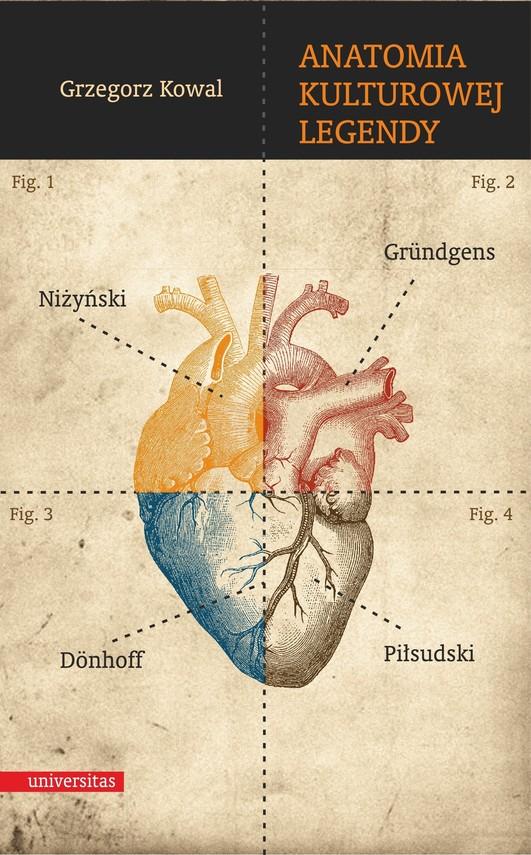 okładka Anatomia kulturowej legendy. Niżyński – Gründgens – Dönhoff – Piłsudskiebook | epub, mobi | Kowal Grzegorz
