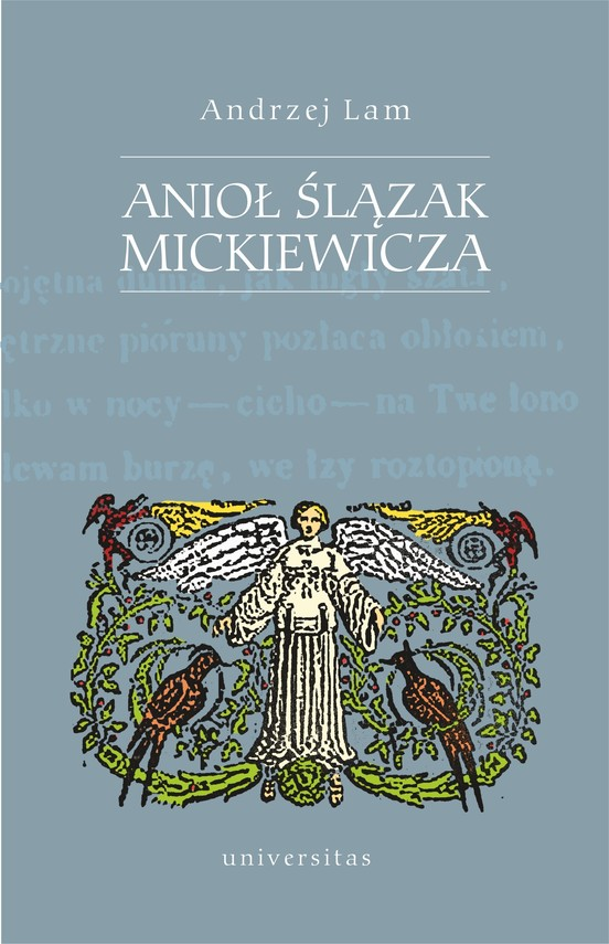 okładka Anioł Ślązak Mickiewiczaebook   pdf   Lam Andrzej