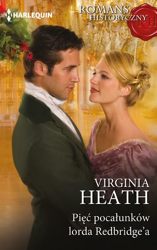 okładka Pięć pocałunków lorda Redbridge'aebook | epub, mobi | Virginia Heath