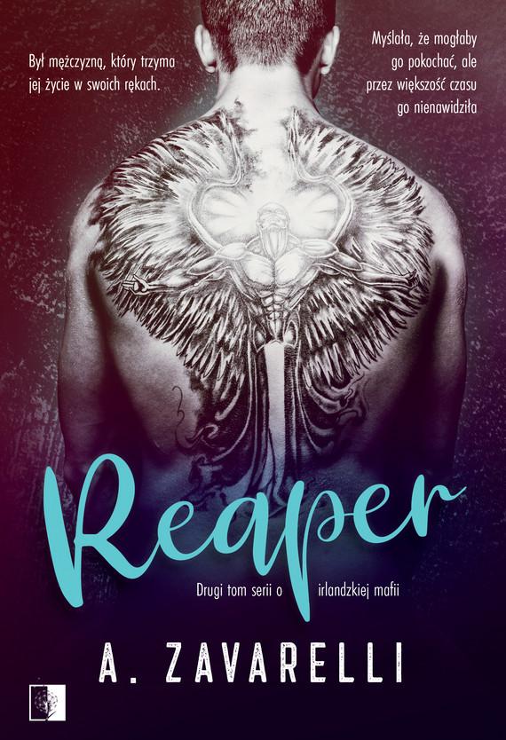 okładka Reaperebook | epub, mobi | A. Zavarelli