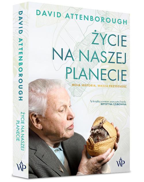 okładka Życie na naszej planecieksiążka      David Attenborough