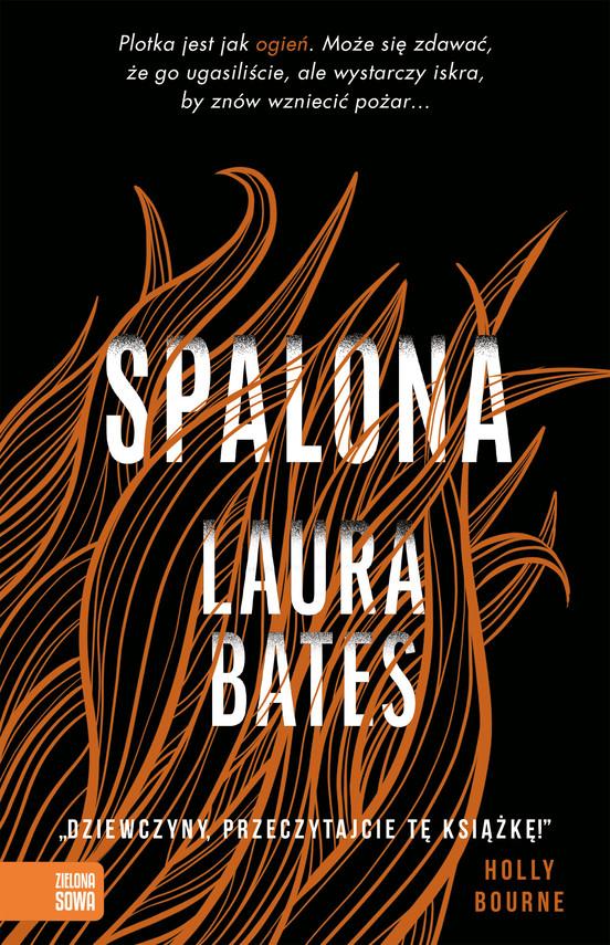 okładka Spalonaebook   epub, mobi   Bates Laura